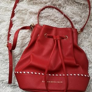 Tommy Hilfiger crossbody leather  bag
